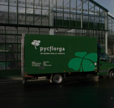 Pycflorga corporate identity
