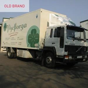 Old brand Pycflorga
