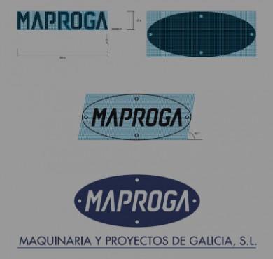 Maproga corporate identity