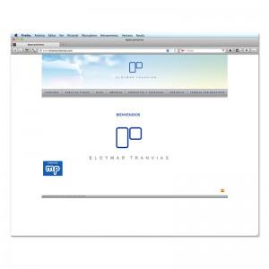 Eloymar Tranvías website