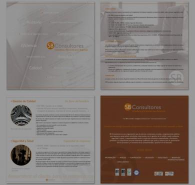 Diseño y comunicación para SB Consultores