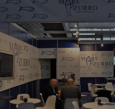 Diseño de estand Mare Azurro