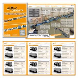 Diseño de catálogos JBJ Products