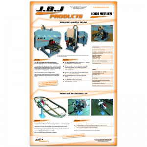 Diseño de carteles JBJ Products