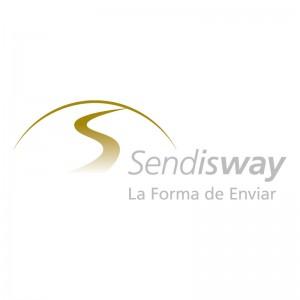 Imagen corporativa Sendisway sobre blanco